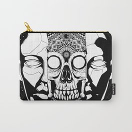 What hides beneath the mask Carry-All Pouch