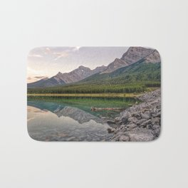Reflecting on Stillness Bath Mat