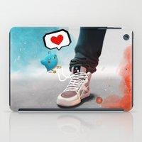 sneaker iPad Cases featuring sneaker Love by Dominik Gottherr