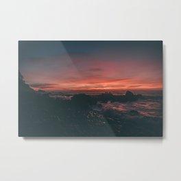 California Sunset II Metal Print