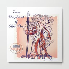 Pae Tree Ent Metal Print