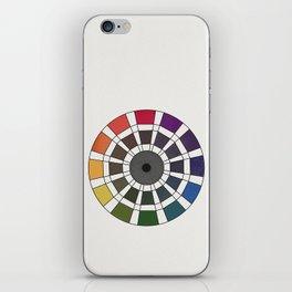 Rouget de Lisle - Table Chromatique 1838, Remake, renewed version iPhone Skin