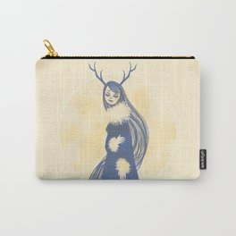 Lady Blue Carry-All Pouch
