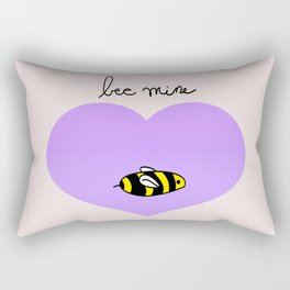 Bee Mine, Oh My Cliche Valentine Rectangular Pillow