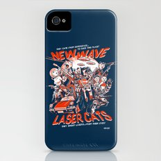 New Wave Laser Cats iPhone (4, 4s) Slim Case