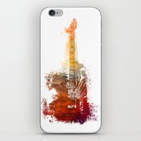 bass iPhone & iPod Skins featuring Bass Guitar by jbjart