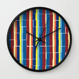 zakiaz primary design Wall Clock