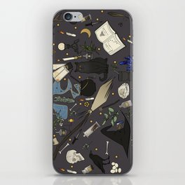 Witch's things iPhone Skin
