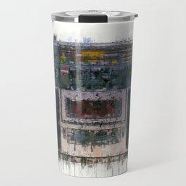 cassette recorder  - painting / illustration Travel Mug