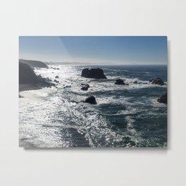 Bodega Bay Metal Print