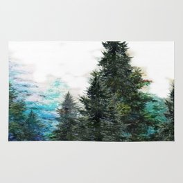 GREEN MOUNTAIN PINES LANDSCAPE Rug