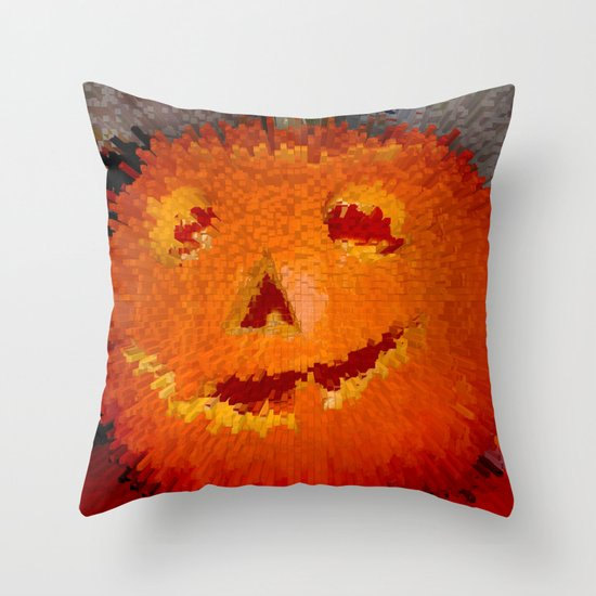 Jack's Back! Throw Pillow