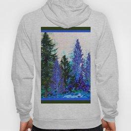 BLUE-GREEN MOUNTAIN FOREST LANDSCAPE Hoody
