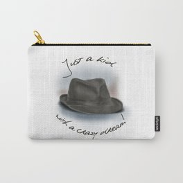 Hat For Leonard Cohen, Crazy Dream Kid Carry-All Pouch
