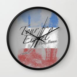 Tour Eiffel Wall Clock