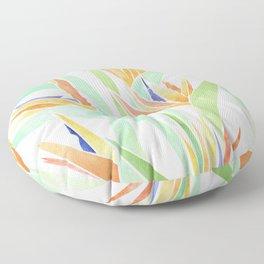 Birds of Paradise ~ tropical bouquet Floor Pillow
