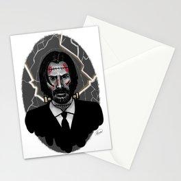 John Wick is Frankenstein's Monster Stationery Cards