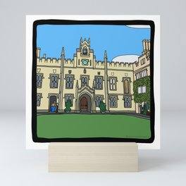 Cambridge struggles: Sidney Sussex Mini Art Print