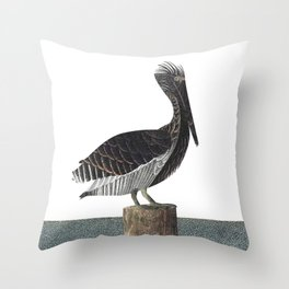 Pelican Throw Pillow