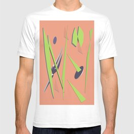 80s Shapes, Colors and Space T-shirt