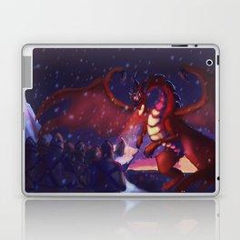 He raised his sword Laptop & iPad Skin