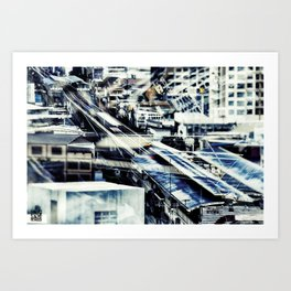 BlueBan Art Print