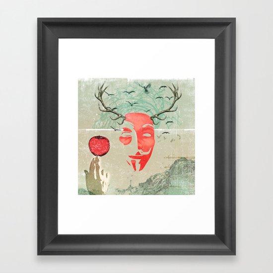 newton Framed Art Print