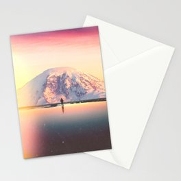 Mount Rainier Washington Stationery Cards