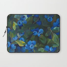 A Blueberry View Laptop Sleeve