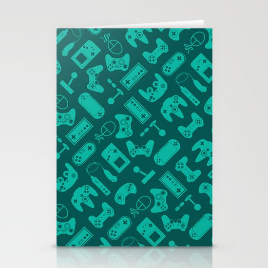 Control Your Game - Tradewinds Turquoise Stationery Cards