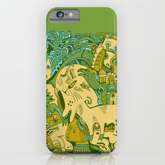 Green Town iPhone & iPod Case