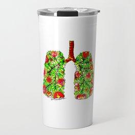 Lungs of the Earth Anatomy Travel Mug