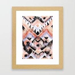 Southwest Floral Framed Art Print