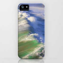 Breaking Waves iPhone Case