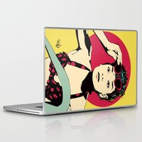 audrey Laptop & iPad Skins featuring Audrey by Vee Ladwa