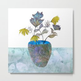 Country flowers Metal Print