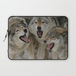 Watching Youtube Laptop Sleeve
