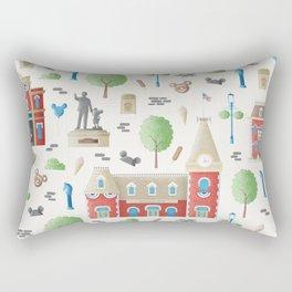Main Street USA Disneyland Pattern Rectangular Pillow