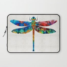 Colorful Dragonfly Art By Sharon Cummings Laptop Sleeve