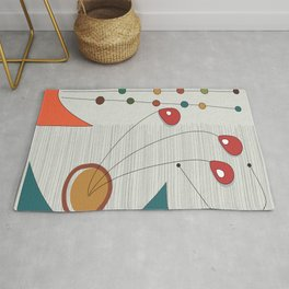 Mobiles in Action Rug
