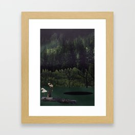 Portals: Forest Framed Art Print