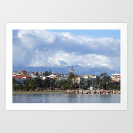 Rethymnon Crete Greece Art Print