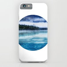 Blue Tranquility round Lake Scenery iPhone 6s Slim Case