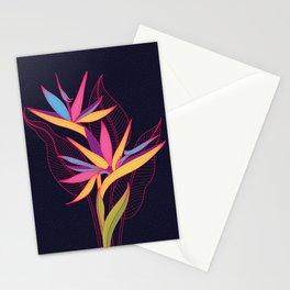 Strelitzia Flowers Stationery Cards