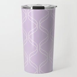 Double Helix - Light Purples #367 Travel Mug