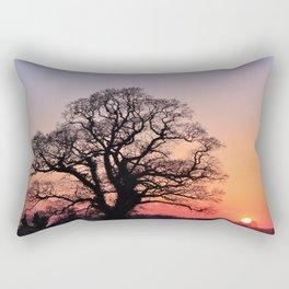 Sunset, Lttle and Large Rectangular Pillow