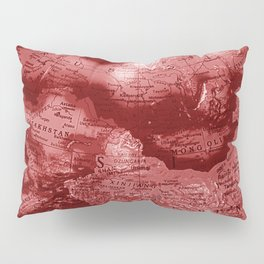Russia in Red Pillow Sham