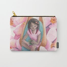 Bliss Among Blossoms Carry-All Pouch