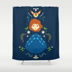 Wind Valley Shower Curtain