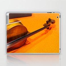 Violin on the Floor Laptop & iPad Skin